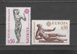 FRANCE / 1974 / Y&T N° 1789/1790 ** : Europa (œuvres De Rodin & Maillol) - Gomme D'origine Intacte - Neufs
