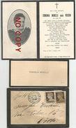 Grizzana Morandi, Piano Di Setta, 3.6.1930, Erminia Minelli Nata Vecchi, Unita Busta E Carta Da Visita. - Avvisi Di Necrologio