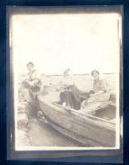 Cpa Carte Photo ( 12 X 8,9 Cm) Circa 1920 Parqueuses D' Huîtres  ...  Arcachon ??    SEP17-77 - Pêche
