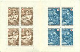 FRANCE . CARNET + ROUGE .1969 Nxx été , Hiver . MIGNARD TB. - Markenheftchen