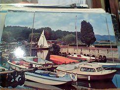 TORRE DEL LAGO PUCCINI  PORTICCIOLO BARCHE MOTOSCAFO VB1985 GL19631 - Lucca