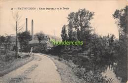 CPA 59 HAUBOURDIN USINE BERNARD ET LA DEULE - Haubourdin