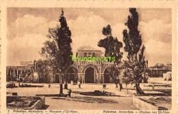 CPA CHOCOLAT MARTOUGIN  PALESTINE JERUSALEM MOSQUEE D'EL AKSA - Palestine