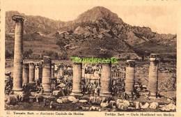 CPA CHOCOLAT MARTOUGIN  TURKEY TURQUIE SART ANCIENNE CAPITALE DE MEDIEZ - Turquie
