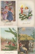 """17 /1 2 / 152  -    LOT  DE  10  CP  """" JOYEUX  NOËL  """"  Toutes Scanées - Postcards"""