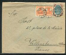 Allemagne - Enveloppe De Worms Pour La France En 1920 - Ref D83 - Germany