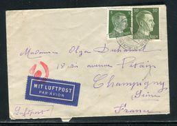 Allemagne - Enveloppe De Berlin Pour La France Par Avion - Ref D86 - Briefe U. Dokumente