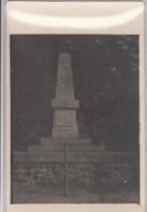 MACHEMONT       CARTE PHOTO  MONUMENT DE MONTIGNY . SEPTEMBRE 1915 - Guerre 1914-18