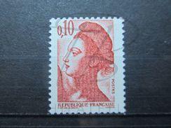 VEND BEAU TIMBRE DE FRANCE N° 2179 , LIGNES VERTICALES , XX !!! (b) - Errors & Oddities