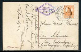 Allemagne -carte Postale Pour Le Luxembourg En 1918 - Ref D96 - Allemagne