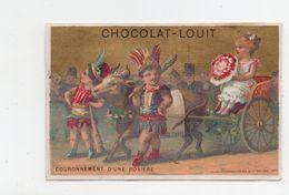 Chocolat Louit. Couronnement D'une Rosiere. - Louit