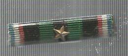 Militaria , Insignes , Rubans Et Décorations , Barette De Rappel - Militaria