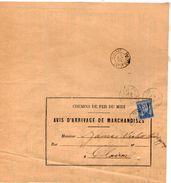 TB 2291 - LAC - Lettre De Des Chemins De Fer Du Midi MP TONNEINS Pour CLAIRAC - Marcophilie (Lettres)