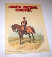 Militaria Uniformi Rivista Militare Europea - Gran Bretagna - 1^ Ed. 1986 - Militari
