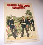 Militaria Uniformi Rivista Militare Europea - Germania - 1^ Ed. 1986 - Militari