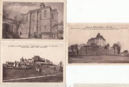 D24 - Château De Biron - 3 CPA  : Achat Immédiat - France