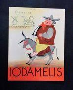 Pubblicità Farmaceutica - Iodamelis - Obesità - 1936 C.a - Advertising