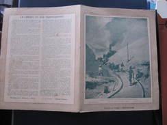 COUVERTURE CAHIER  - LE CHEMIN DE FER TRANSCASPIEN - Librairie Valck Bar Sur Aube - H & Cie - Buvards, Protège-cahiers Illustrés