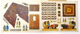 Gioco Costruzione -  Romischer Wachtturm Am Limes (Grenzwall) - 1930 Ca. - Giocattoli Antichi