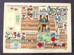 Gioco Costruzione - Petites Constructions N° 6 - La Comète - Epinal - 1900 Ca. - Giocattoli Antichi