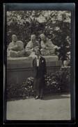 Photo 12 X 7 - Algérie - Femme Devant Le Monument Des Musiciens Arabes à Constantine Années 30 --- Del204 - Places