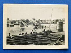 WWI - Stampa Fotografia D'epoca - Visè - Ponte Sulla Mosa Distrutto Dai Belgi - Non Classés