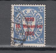 Danzig 1930,Mi 226,aufdruckmarke, Gestempelt, D2593) - Danzig