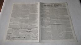 RETHEL ( ARDENNES ) - DETAILS SUR L'INCENDIE DE 1845 - ( JOURNAL DE TOULOUSE DE NOVEMBRE 1845.) - Journaux - Quotidiens