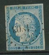 France // 1849-1850 // Yvert & Tellier Cérès No.4 Oblitéré - 1849-1850 Ceres