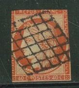 France // 1849-1850 // Yvert & Tellier Cérès No.5 Oblitéré - 1849-1850 Ceres