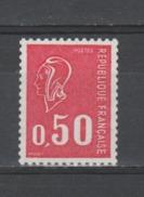FRANCE / 1971 / Y&T N° 1664a ** : Béquet 50c Sans PHO (de Roulette) - Gomme D'origine Intacte - Neufs