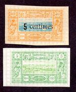 Cote Des Somalis N°27,28 N** LUXE Cote 52 Euros !!!RARE - Neufs