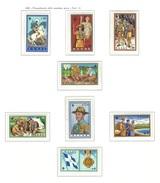 GRECIA 1960 - Cinquantenario Dello Scoutismo In Grecia - 8 Valori - MNH - Yt:GR 705-12 - Grecia