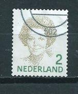 2010 Netherlands Queen Beatrix,value 2 Used/gebruikt/oblitere - Periode 1980-... (Beatrix)