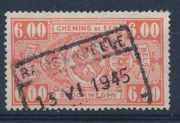 """BELGIE - TR 251 - Cachet  """"RAMSKAPELLE"""" - (ref. 17.504) - Ferrocarril"""