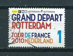 2010 Netherlands Tour De France,grand Départ Used/gebruikt/oblitere - Periode 1980-... (Beatrix)