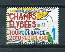 2010 Netherlands Tour De France,champs Elysees Used/gebruikt/oblitere - Periode 1980-... (Beatrix)