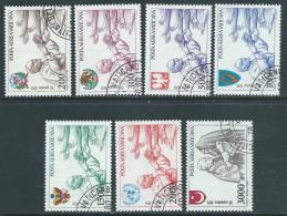1980 VATICANO POSTA AEREA USATO I VIAGGI DEL PAPA GIOVANNI PAOLO II - X3-4 - Airmail