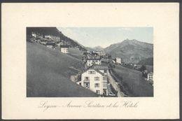 Leysin - Avenue Secrétan Et Les Hôtels - Phot. Jullien Fr - Mag. Ch. Traphagen - Voir 2 Scans - VD Vaud