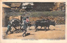 ¤¤  -   MAYOTTE   -   Transport D'Eau  -  Attelage  -  ¤¤ - Mayotte