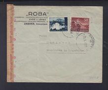 Croatia Cover 1943 Zagreb To Germany Censor - Croatia