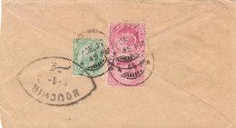 India 1907 BOMBAY 2 * 1a & ½a Via BOUSHIR To Shiraz Persia (18) - India (...-1947)