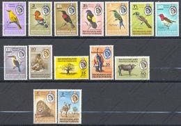 Bechuanaland, Yvert 119/132**, Scott 180/193**, SG 168/181**, MNH - 1885-1964 Protectoraat Van Bechuanaland