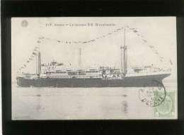 Anvers Le Nouveau S.S. Bruxellesville édit. G. Hermans N° 317 Paquebot - Steamers