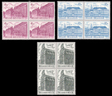 Belgium 1769/71** X 4  Patrimoine Architectural  MNH - Neufs
