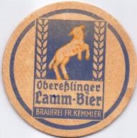 #D178-032 Viltje Lamm Bier Obereßlinger - Sous-bocks