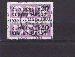 Lot ZKD 1957 Mit Kontrollzahlen - 1600(2x11) - Dienstpost