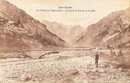 Les Hautes Alpes - La Vallée De Champoléon, Au Fond, Le Pas De La Cavalle - Edition Rougny - Carte Sépia Non Circulée - Non Classés