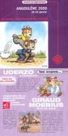 ASTERIX : Programme Salon ANGOULEME 2000 - Objetos Publicitarios
