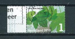 2010 Netherlands Lang Leve Het Bos,forest Used/gebruikt/oblitere - Periode 1980-... (Beatrix)